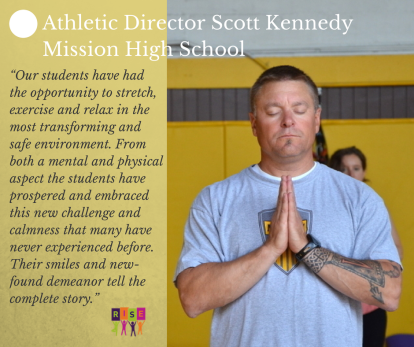 Athletic Director Scott Kennedy of Mission High School
