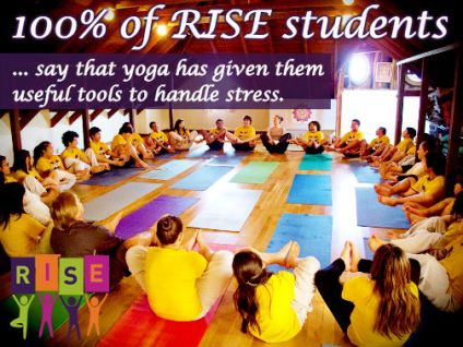 RISE Students Report Less Stress