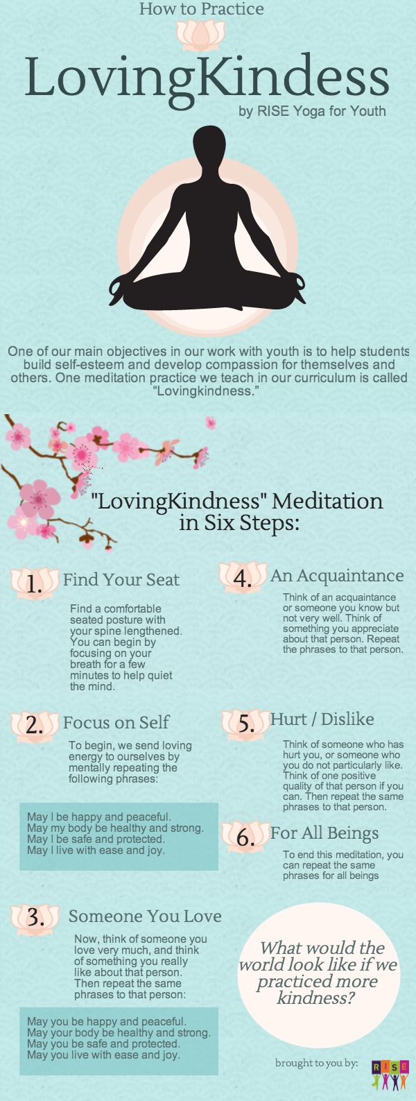 LovingKindness Meditation from RISE Yoga for Youth